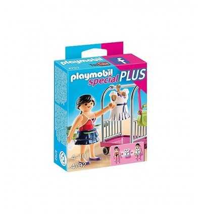 PLAYMOBIL styliste avec une robe 4792 Playmobil- Futurartshop.com