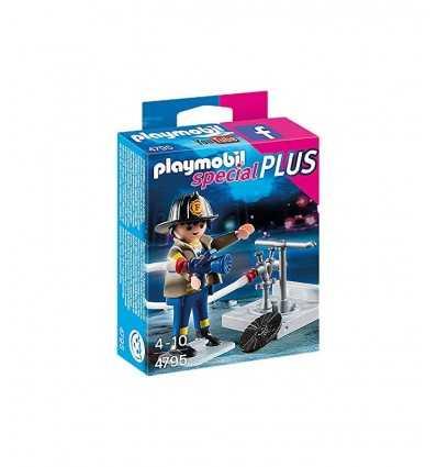 Playmobil bombero con hidrante 4795 Playmobil- Futurartshop.com