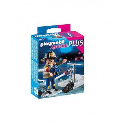 Playmobil fireman with fire hydrant 4795 Playmobil- Futurartshop.com