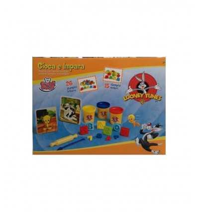 Looney Tunes spielen und lernen modellieren Ton GG76012 Grandi giochi- Futurartshop.com