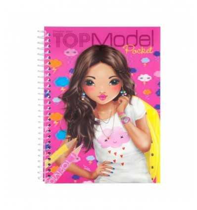 3D album top model coloring with stickers 2 models 047857 Crems- Futurartshop.com