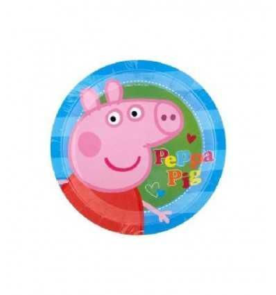 8 Piatti cm 23 Peppa Pig CMG190946 CMG190946 Como Giochi - Futurartshop.com