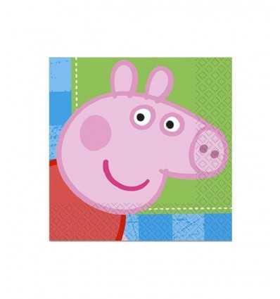 16 Servietten von Peppa Pig-CMG190960 CMG190960 Como Giochi - Futurartshop.com