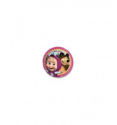 Masha und 8 tragen 20 cm Partei Gerichte 86512 New Bama Party- Futurartshop.com