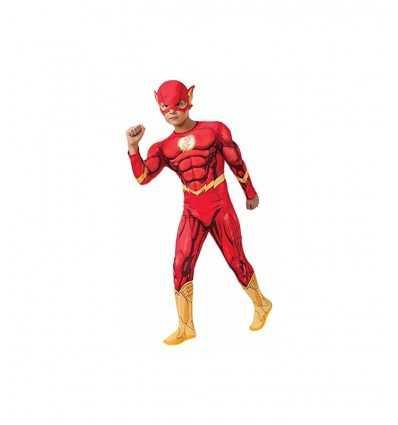 costume flash deluxe con muscoli 5-7 anni IT881369-M Como Giochi -Futurartshop.com