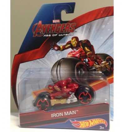 ホット ホイール avangers、オートバイ レースの鉄の男 CDM36/CDM37 Mattel- Futurartshop.com