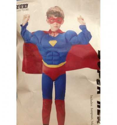 costume 11-14 anni superhero con muscoli 130316/L Grandi giochi-Futurartshop.com
