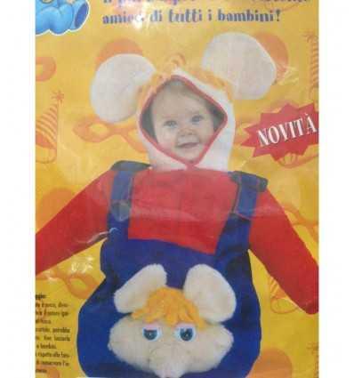 vestito topo gigio baby taglia unica -Futurartshop.com