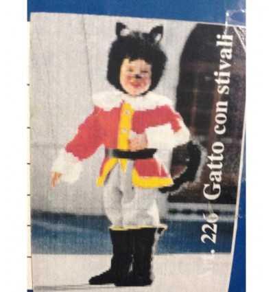 costume gatto con gli stivali 3-4 anni Nuova Rio-Futurartshop.com