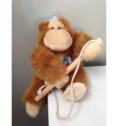 Blue monkey plush toy auction - Futurartshop.com