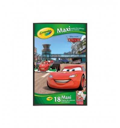 Disney maxi pagine da colorare cars 5161/1 Crayola-Futurartshop.com