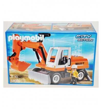 Playmobil mechanischen Bagger 6860/P Playmobil- Futurartshop.com