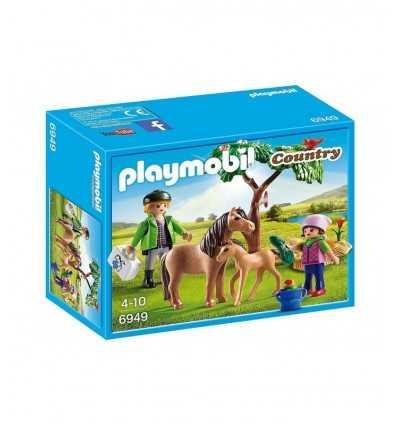 ポニーのプレイモービル獣医 6949 Playmobil- Futurartshop.com