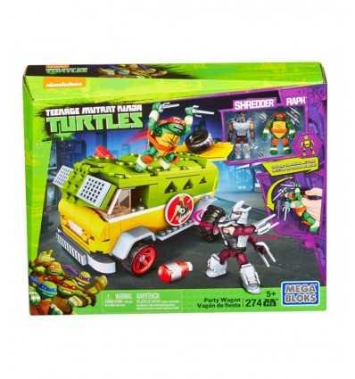Mega bloks lastbil ninja turtles DMX54-0 Mattel- Futurartshop.com