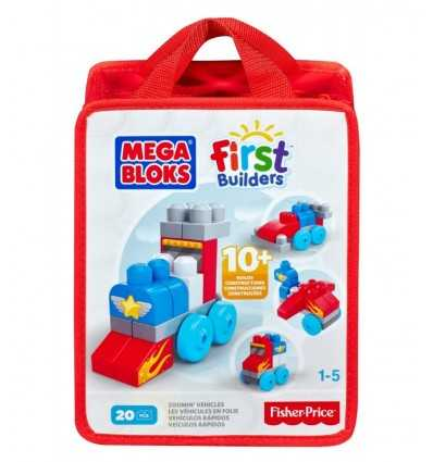 Mega Bloks bauen und Sperre lernt Fahrzeug CNH08/CNH09 Mattel- Futurartshop.com