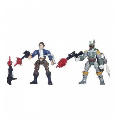 Set 2 guerras estrellas personajes han solo contra boba fett B3827EU40/B3828 Hasbro- Futurartshop.com
