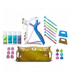 Calze autoreggenti nere con teschi e fiocco 03189 Carnival Toys-futurartshop