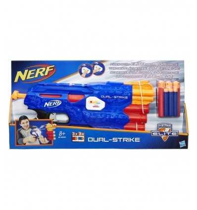 NERF n strike elite dual strike B4620EU40 Hasbro- Futurartshop.com