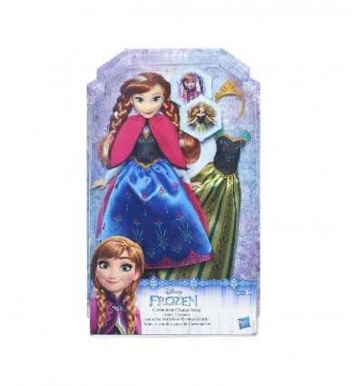 (frozen) fashion bambola anna con due abiti B5169EU40/B5171 Hasbro-Futurartshop.com