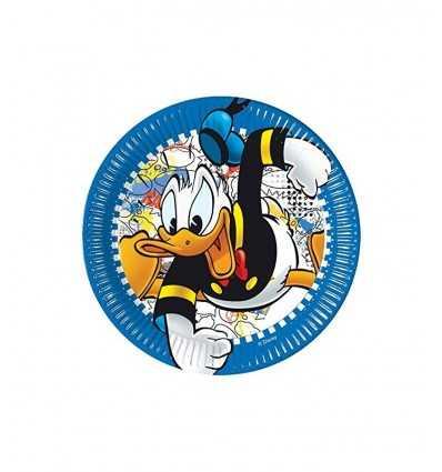 Donald plats 23 cm EXTD01DX New Bama Party- Futurartshop.com