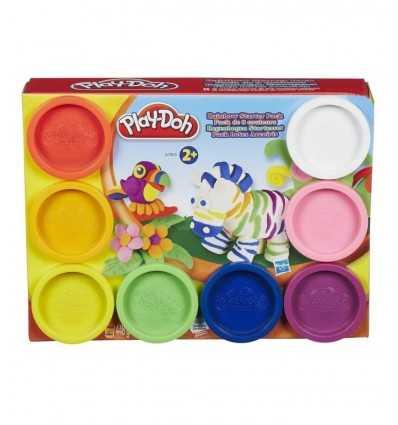 play doh rainbow 8 mini barattoli A7923EU40 Hasbro-Futurartshop.com
