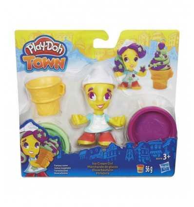 Doh Charakter der Stadt von Eis zu spielen B5960EU40/B5978 Hasbro- Futurartshop.com