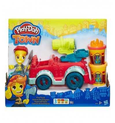 Doh 町消防車を再生します。 B3416EU40 Hasbro- Futurartshop.com