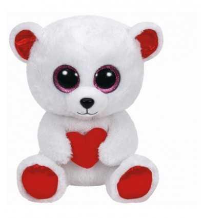 peluche beanie boos orso con cuore 28 centimetri 370510 -Futurartshop.com