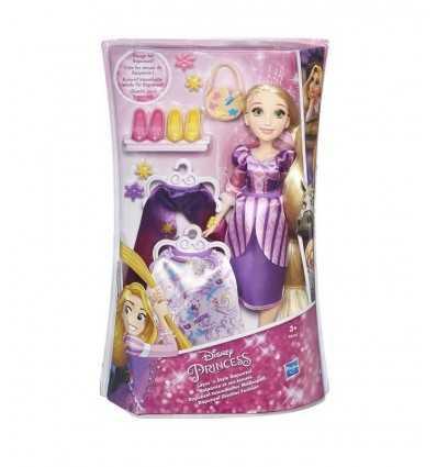 bambola rapunzel style con 2 abiti e accessori B5312EU40/B5315 Hasbro-Futurartshop.com