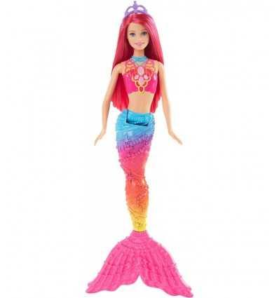 Barbie Mermaid mehrfarbiger Schwanz Fuchsia DHM45/DHM474 Mattel- Futurartshop.com
