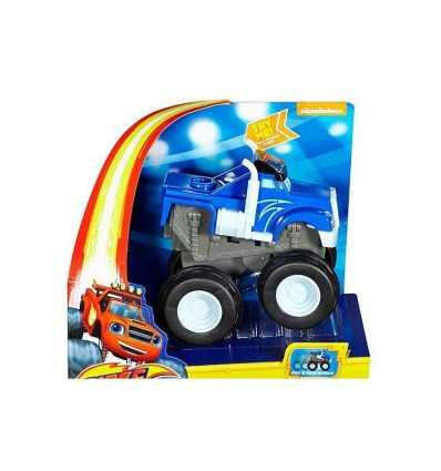 vehicle blaze crushes and hurtling crusher blue CGK22/CGK24 Mattel- Futurartshop.com