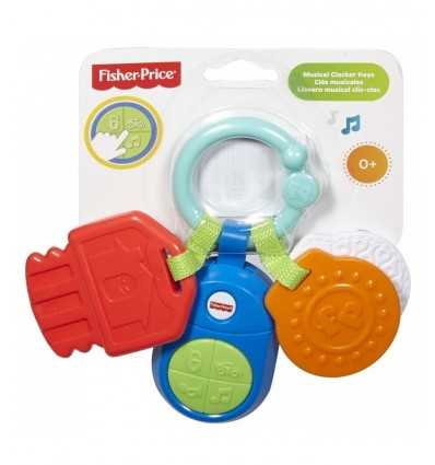 音楽的形状キー ガラガラします。 DPK28/DFP52 Mattel- Futurartshop.com