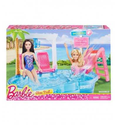 Barbie glam pool with accessories DGW22-0 Mattel- Futurartshop.com