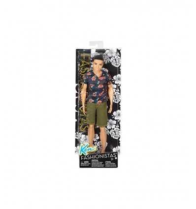 Ken Fashionistas mit Bermuda und floral shirt DGY66/DGY68 Mattel- Futurartshop.com