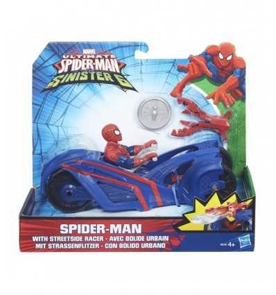 Spiderman avec boule de feu urbain B5760EU40/B6392 Hasbro- Futurartshop.com