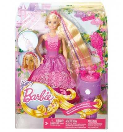 Barbie fairytale hair with pigtails DKB62 Mattel- Futurartshop.com