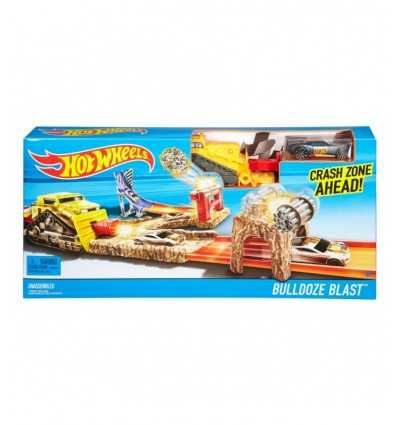 HW acrobatique pistes-bulldozer blast DNR74/DJF04 Mattel- Futurartshop.com