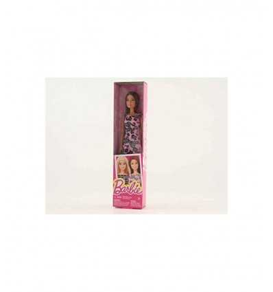 trendy Barbie friends with pink and black dress T7439/DGX58 Mattel- Futurartshop.com