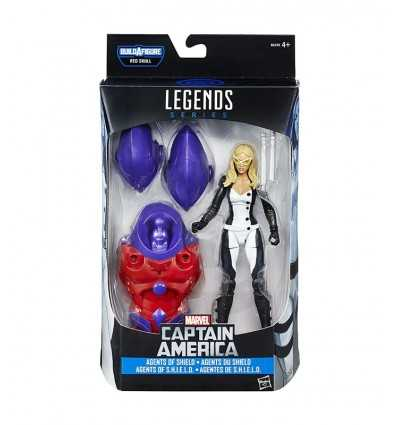 キャプテン ・ アメリカのマーベル伝説文字モッキンバード B6355EU40/B6396 Hasbro- Futurartshop.com
