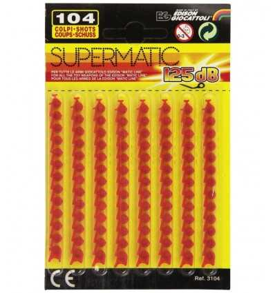 supermatic 104 shots 3104.51 Edison Giocattoli - Futurartshop.com