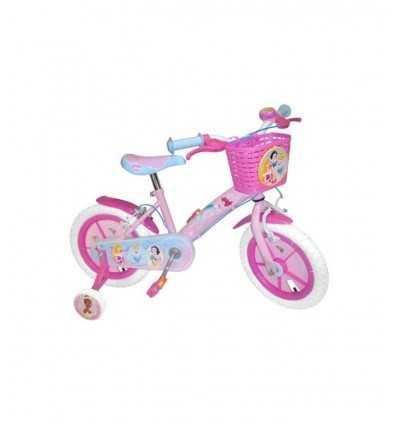 12 Princess Fahrrad mit Korb vorne und Bell C880600 C880600 Stamp- Futurartshop.com