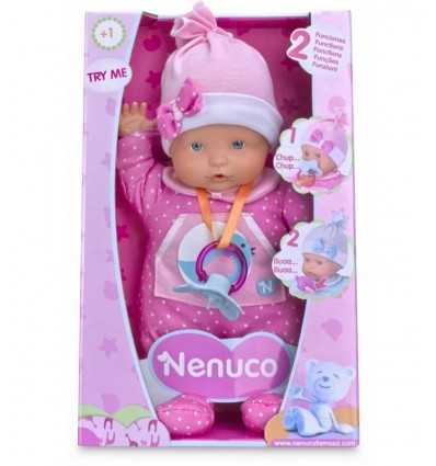 nenuco doll with sound and pink overalls 700012663/20965 Famosa- Futurartshop.com