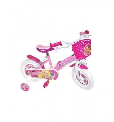 14 Розовая Барби велосипед с передней корзиной и Белл CB812611 CB812611 Stamp- Futurartshop.com