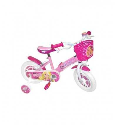 Bicicletta Barbie Rosa 14 Con Cestino Anteriore e Campanello CB812611 CB812611 Stamp-Futurartshop.com