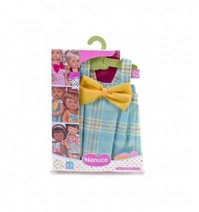 Nenuco bleu robe avec ruban jaune 700012824/21326 Famosa- Futurartshop.com