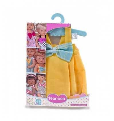 Nenuco jaune robe avec noeud bleu 700012824/21330 Famosa- Futurartshop.com