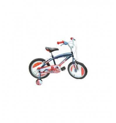 Bicicletta Spiderman 16 Ruota Raggiata Tutto Sfere SM140038SE Stamp-Futurartshop.com