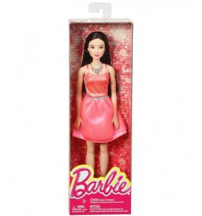 Barbie glitz brunette with pink dress T7580/DGX83 Mattel- Futurartshop.com