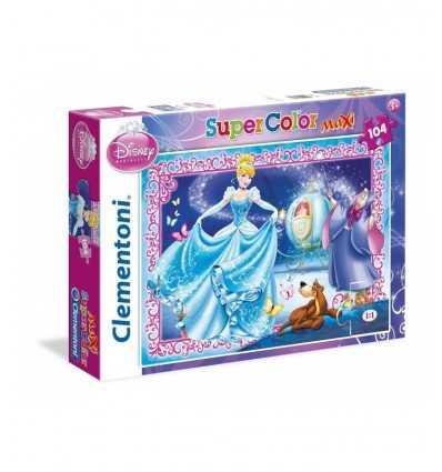 Puzzle 104 Teile Maxi Cinderella 23671 Clementoni- Futurartshop.com