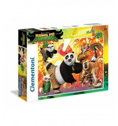 puzzle 104 pezzi maxi kung fu panda 3 27959 Grandi giochi-Futurartshop.com